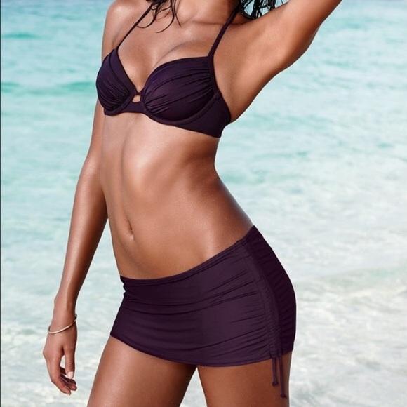 Victoria's Secret Other - VICTORIA'S SECRET skirted Swim bikini bottom
